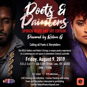 """Poets & Painters - """"Spoken Word and Art Edition"""" - Part I @ KULA Gallery"""