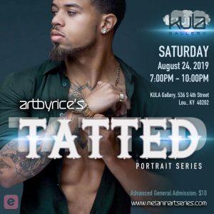 ArtbyRice's Tatted Art Exhibition @ KULA Gallery
